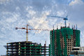 Free Building Crane And Building Under Construction Royalty Free Stock Images - 26850449