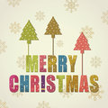 Free Christmas Greeting Card Royalty Free Stock Photography - 26857357