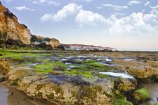 Olhos D Agua, Algarve Stock Images