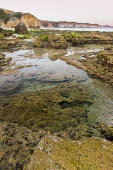 Olhos D Agua, Algarve Stock Photos
