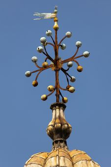 Free Tower Decoration On The Basilica San Marco Royalty Free Stock Photography - 26850257