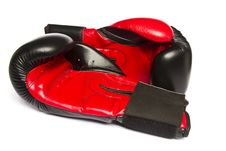 Free Red Boxing Gloves Stock Image - 26854061