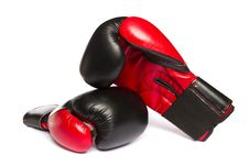Free Boxing Gloves Royalty Free Stock Image - 26854116