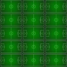 Free Football Pattern Royalty Free Stock Photo - 26854275