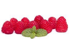 Free Tasty Raspberries Stock Images - 26854854