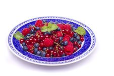Tasty Mix Of Berries Royalty Free Stock Image