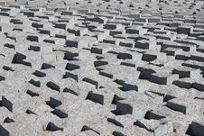 Free Concrete Paved Texture Royalty Free Stock Photo - 26855795