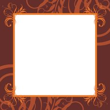 Free Ornamental Brown Frame Stock Photos - 26856733