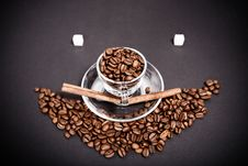 Free Coffee  Smiles At You Royalty Free Stock Photo - 26858345