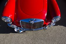 Vintage Car Detail Royalty Free Stock Photos