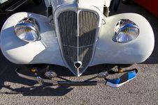 Vintage Car Detail Stock Images