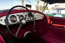 Free Vintage Car Detail Interior Stock Images - 26858944