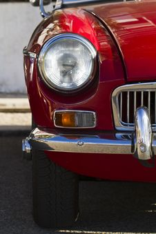 Vintage Car Detail Royalty Free Stock Photography