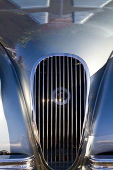 Vintage Car Detail Royalty Free Stock Images