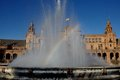 Free Fountain Plaza Of Spain In Seville Royalty Free Stock Images - 26866469