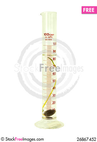 Free Test Tube Stock Photography - 26867452