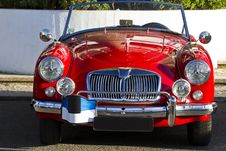 Vintage Car Detail Stock Photography
