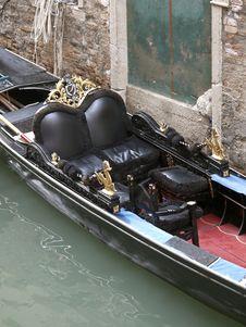Free Gondola Detail Royalty Free Stock Image - 26860146