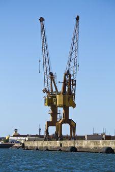 Free Port Crane Stock Photos - 26860353