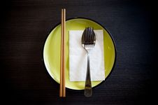 Dish Set Stock Images