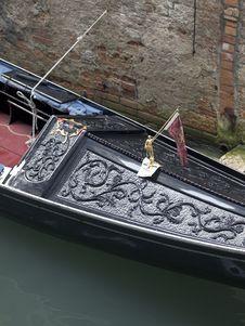 Free Gondola Detail Stock Image - 26861021