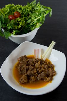 Free Vietnamese Roasted Beef Royalty Free Stock Images - 26861129