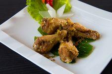 Free Vietnamese Fried Chicken Stock Image - 26861561