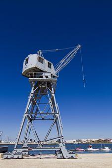 Free Port Crane Stock Images - 26861844