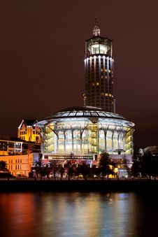 Free House Of Music In Moscow, Russia Stock Image - 26861931