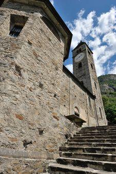Old Church In Biasca