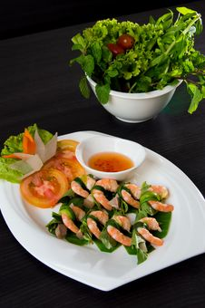Free Vietnamese Food Shrimp Royalty Free Stock Photography - 26862047