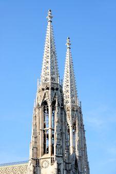 Free Votivkirche In Vienna, Austria Royalty Free Stock Image - 26862086