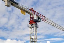 Free Tower Crane Royalty Free Stock Photo - 26863195