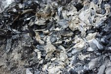 Free Burnt Debris Stock Photography - 26863462