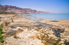 Free Dead Sea Landscape Royalty Free Stock Photography - 26863497