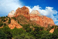 Free Zion National Park Stock Photography - 26865082