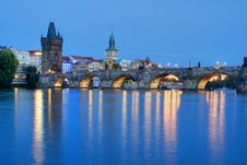 Free Charles Bridge Stock Photography - 26865552