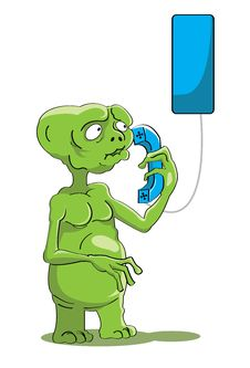 Free E.T Have Phone Stock Photo - 26867820