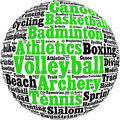 Free Various Sport Info-text Stock Photos - 26873513