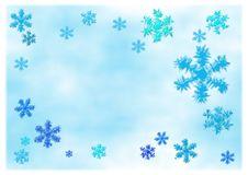 Free Choppy Snowflakes Stock Photography - 26871472