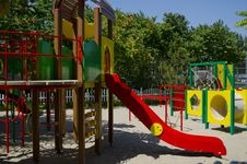 Fine Playground Stock Photo
