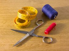 Free Sewing Tools Stock Photo - 26873590