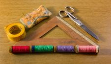 Free Old Sewing Tools Stock Images - 26873594
