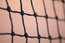 Tennis Net Royalty Free Stock Photos