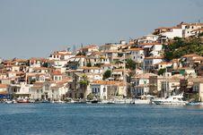 Free Boats At The Poros Island, Greece Stock Photos - 26876483