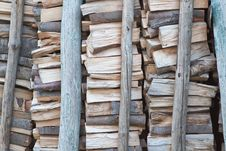 Free A Pile Of Firewood. Stock Images - 26879504