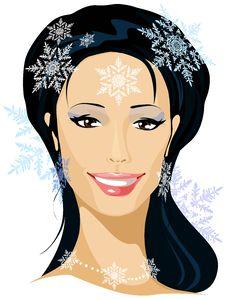 Free Winter Beautiful Woman Royalty Free Stock Photography - 26879627