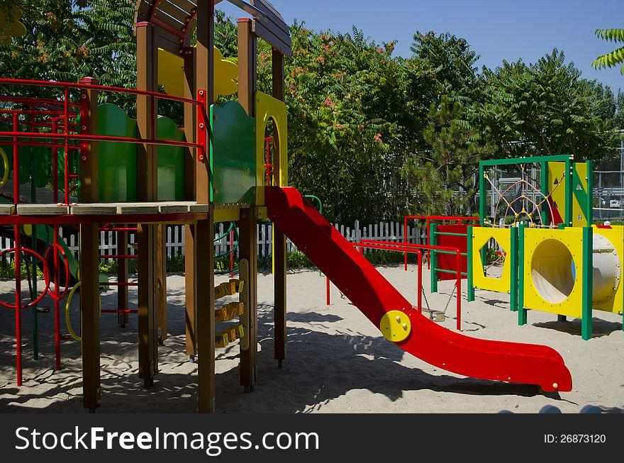 Fine playground