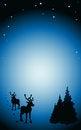 Free Vector Dark Winter Background Stock Image - 26880161