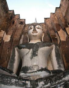 Free Mara Vichai Buddha. Stock Image - 26880651